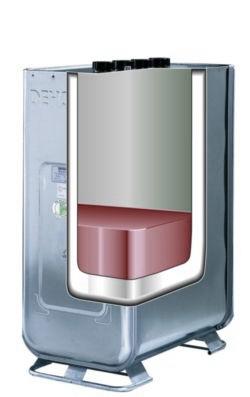 zbiornik na olej dwuplaszczowy typ kombi 750